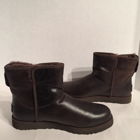 50f8e24972c Ugg Women's Cory Stout Mini Leather Boots